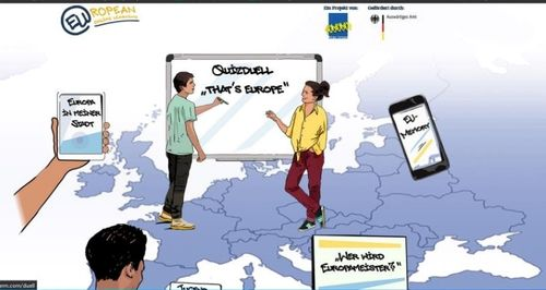 QUIZDUELL « THAT'S EUROPE »