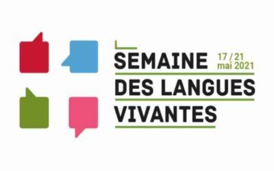 Semaine des langues vivantes, du 17 au 21 mai 2021