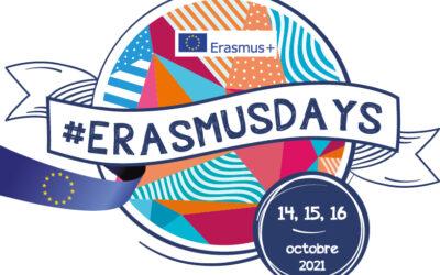 Cette année, les #ErasmusDays auront lieu les 14, 15 et 16 octobre 2021 §