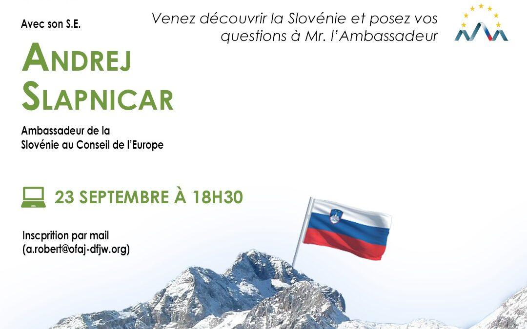 Webinaire proposé par l'OFAJ jeudi 23 septembre 2021: venez découvrir la Slovénie!